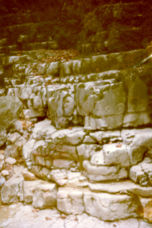 Rocks In The Taubenlochschlucht